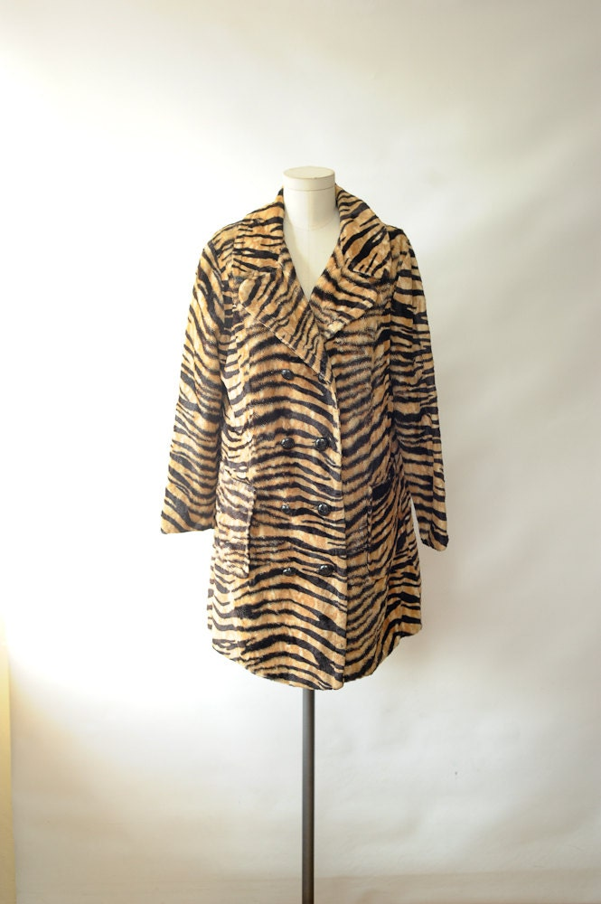 Tiger Faux Fur Coat - Best Picture Tiger In The World