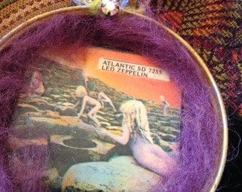 Vintage Album Art Ornament . Led Zeppelin Houses of the Holy
