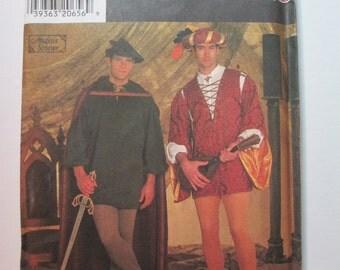 Simplicity 7761 Men's Medieval / Renaissance sewing pattern  ***size A (XS,S,M,L,XL)***