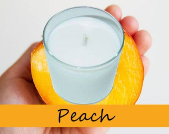Peach Scented Candle in Tumbler 13 oz