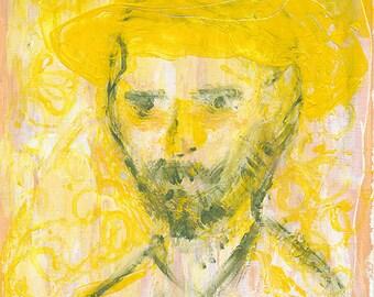 Vincent - Portrait of Vincent Van Gogh, ACEO limited edition of 50