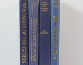 Pretty Blue Vintage Book Bundle 4 Volumes ~ Norton, Bianconi, Covington, Sheldon