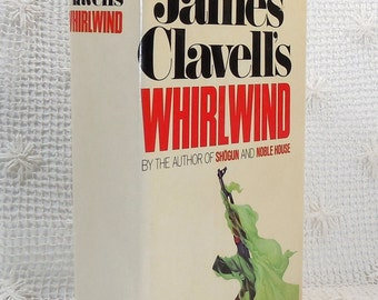 Whirlwind by James Clavell, First Edition