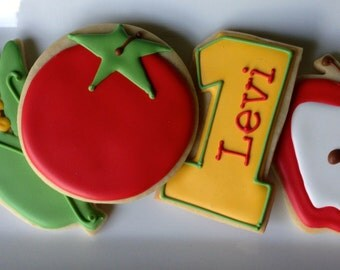 Fresh Produce Sugar Cookie Collection