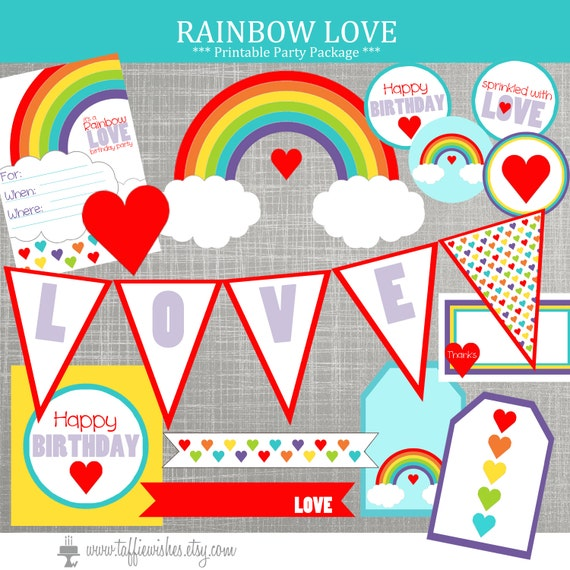 rainbow birthday party decorations rainbow baby shower decorations