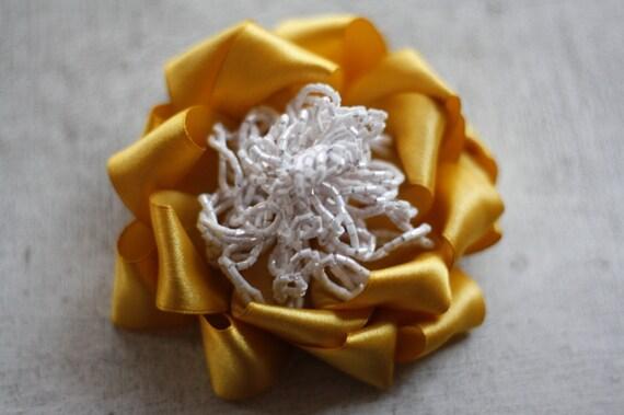 Ribbon Flower Pattern, Carmina Blooms PDF Tutorial