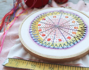 Colorburst Embroidery Single: STARBURST