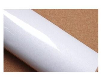 Gloss Solid White Pearl 2m * Counter Top Film Vinyl Self Adhesive Peel-Stick Wallpaper