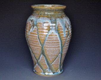 Ceramic Pottery Vase Riverstone Flower Vase Handmade C
