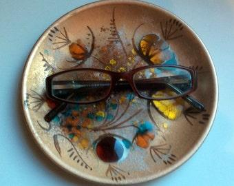 California Cloisonné Copper Enameled Plate - Landau and Associates - 1958