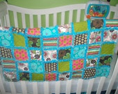 Colorful Baby Rag Quilt