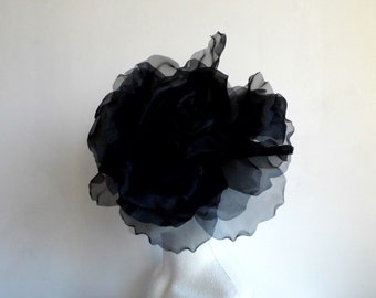SALE Extra Large Rose -  Black WAS 50.00 NOW 40.00