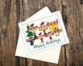 Family Christmas Cards, Unique Christmas Cards, Funny Christmas Cards, Family Card, Custom Christmas Cards, Personalized Christmas Card