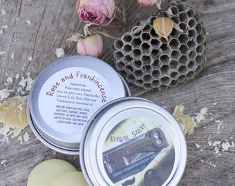 Rose and Frankincense Salve