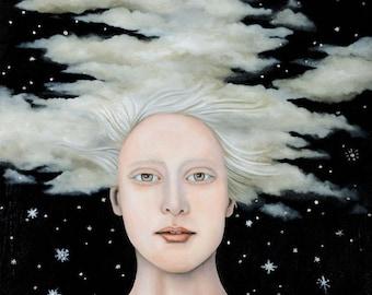 Albino Snow