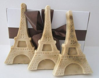 EIFFEL TOWER SOAP - gift for man, gifts for teens, gifts for teachers, Stocking stuffer, stocking for dad