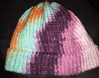 Adorable Knitted Infant Baby Hat for baby girls or baby boys