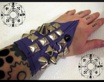 Heavily Studded Bat Cuff