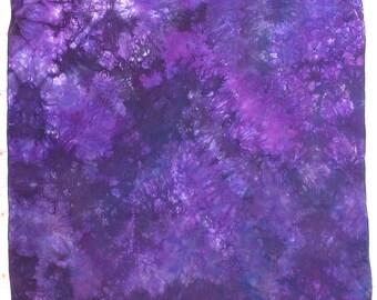 Purple Galaxy Play Silk ~ Hand Dyed