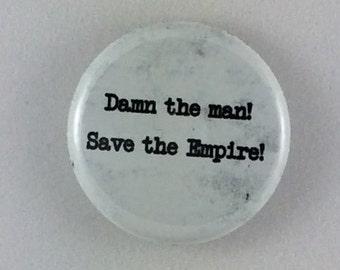 "1"" Button - Save the Empire!"