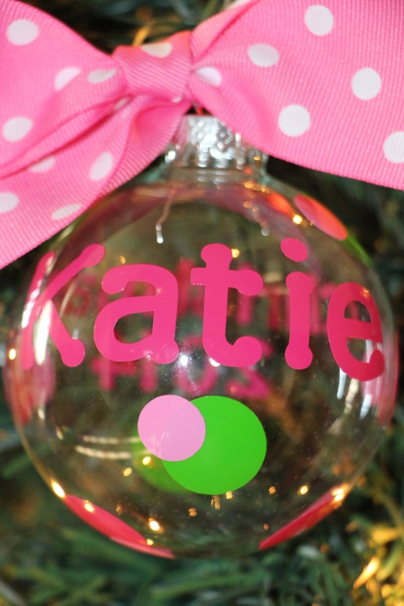 Personalized Name Ornament - Christmas Ornament