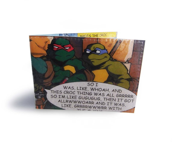 Teenage Mutant Ninja Turtles Card Holder - Oyster card, metro, travel