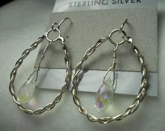 Swarowski Crystal Bead Earrings