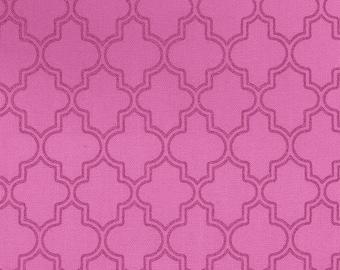 Pink Pearl Quatrefoil