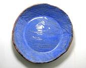 Deep Pie Plate - Wood Grain Pattern