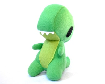 Greenie the Baby Trex  Dinosaur Plush