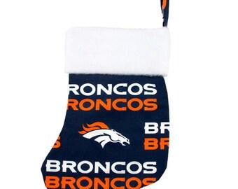 Denver Broncos Christmas Stocking