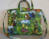 Laptop Bag - Garden Birds