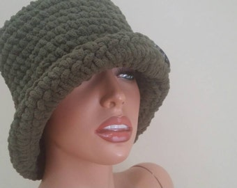 Crochet made hat