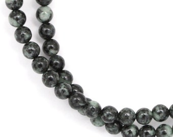 "CLEARANCE Rainforest ""Jade"" Beads - 4mm Round - Full Strand"