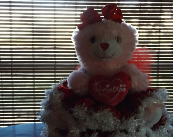 Baby's First Valentine Doll and nursery decoration