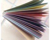 Rainbow Cardstock Paper Pad with lay-flat binding
