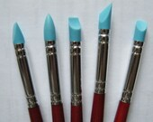 5 Pcs Polymer Clay Sculpting Tools: Silicone Clay Shapers
