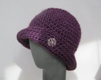 Crochet Pattern Cloche Hat PDF Pattern No 40 Permission To Sell Finished Items