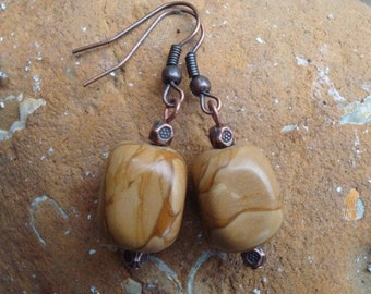 Tigerskin Jasper Earrings