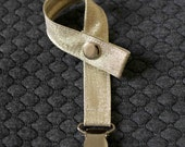Pacifier Clip Bling - Gold