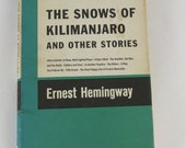 1955 edition - The Snows of Kilimanjaro - Ernest Hemingway