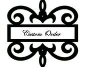 Custom Order - Kim D