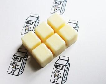 Milk Scented Melts - Natural Vegan Soy Wax - Soy Candles - Soy Wax Melts - Soy Tarts