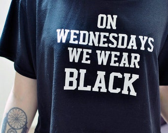 Wednesdays we wear | Etsy