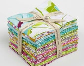 Fat Quarter Bundle - HALLE ROSE COTTONS by Lila Tueller -  Riley Blake Designs Fabric - 18 FQs