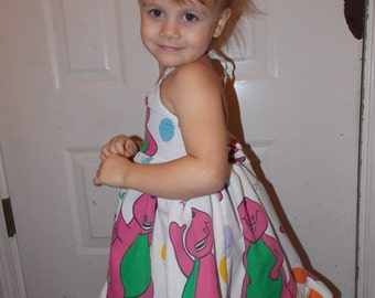 Custom made to order Sweet Heart pin up little girls toddler Character dress You choose the character