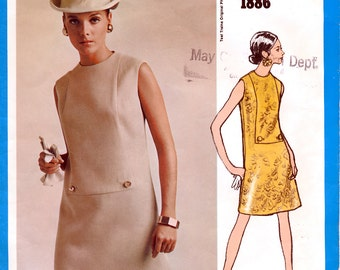 Vogue Americana 1886 Misses' Dress Sewing Pattern by Designer Teal Traina - Size 12 - Bust 34