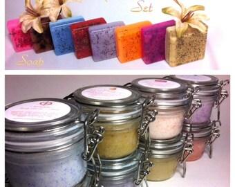 Scrub & Soap Sets
