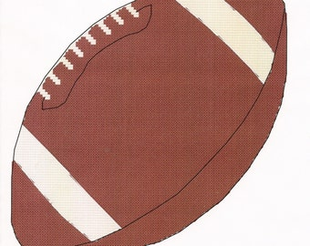 Football Cross Stitch Pattern