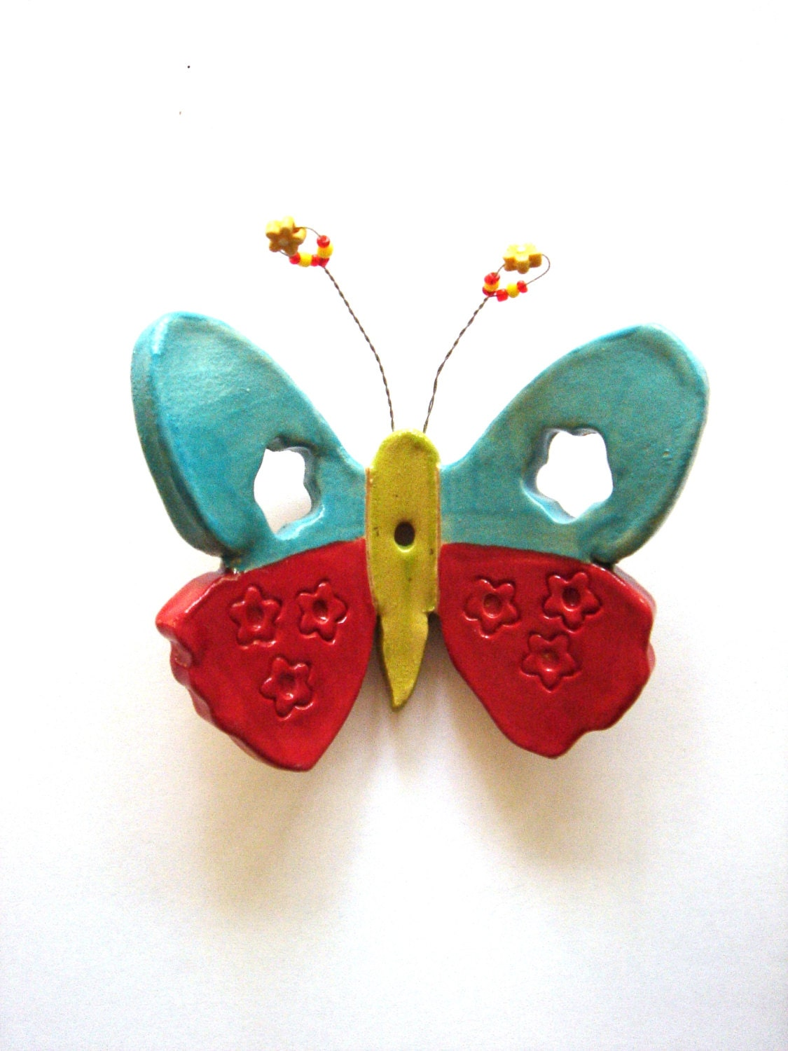3d butterfly wall art butterfly decor colorful ceramic for 3d butterfly decoration